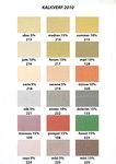 Kalkstuc leverbaar in 69 kleuren
