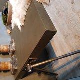 Salontafel industrial metallic_