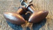 Bronzen ijzeren knopjes