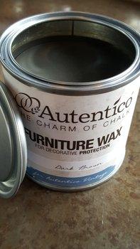 Autentico Furniture wax (Dark brown)