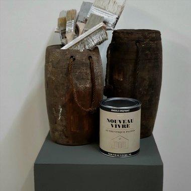 KRIJTVERF BLACK MIST (1 liter)