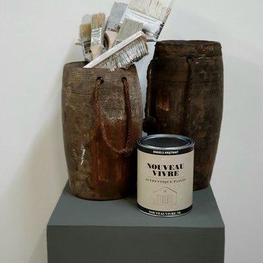 KRIJTVERF INDUSTRIAL BLACK (1 liter)