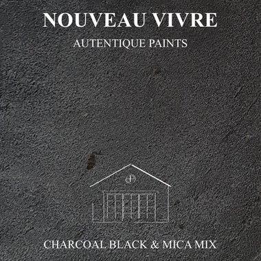 BETONSTUC PAKKET OVER TEGELS (CHACOAL BLACK + MICA MIX)