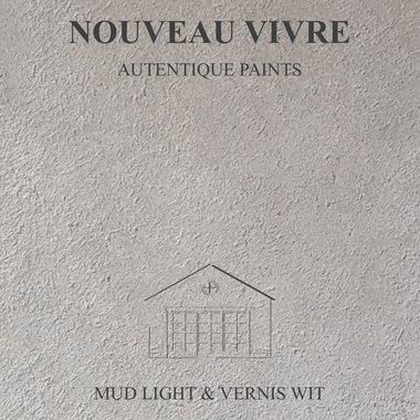 BETONSTUC PAKKET OVER TEGELS (MUD LIGHT EN VERNIS WIT)