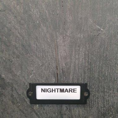 Betonlookverf Nightmare