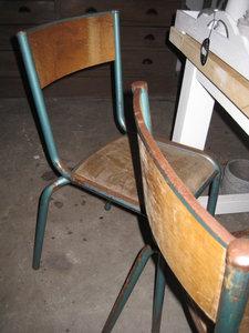 Brocante franse stoeltjes